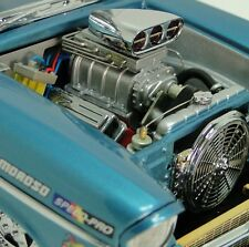 1957 Chevy Race Car w/ Blown Chevrolet V8 Engine & Vintage Drag Racing Wheels