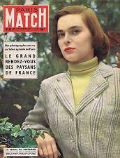 COUVERTURE DE MAGAZINE PARIS MATCH N° 311 12/03/55 LUCIA BOSE