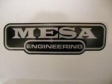 MESA BOOGIE ENGINEERING GUITAR BASS AMP DECAL STICKER CASE RACK BUMPER STICKER