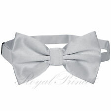 Men's Classic Formal Butterfly Solid Pre-tied Bow tie Bowtie Wedding Party Prom