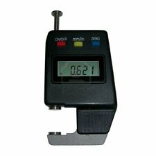 "ELECTRONIC DIGITAL POCKET THICKNESS GAGE PAPER MIC 0-0.6"" / 0 - 15mm with case"