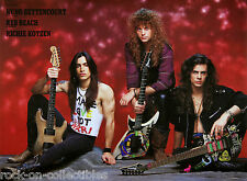 Kotzen Reb Beach Bettencourt Extreme Winger Poison Rare Japan Metal Gear Poster