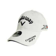 NEW Callaway Golf Tour Authentic Performance Pro White Adjustable Hat/Cap