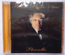 Roberto Bravo Piano Astor Piazzolla CD Brand New Factory Sealed