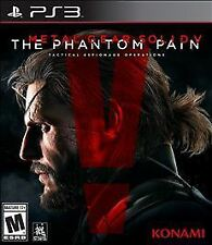 NEW Metal Gear Solid V: The Phantom Pain (Sony PlayStation 3, 2015)