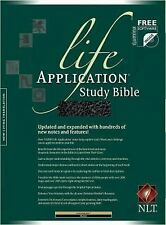 Life Application Study Bible NLT by . 0842384952 Imitation Leather Book. Good Co