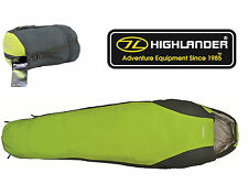 HIGHLANDER SCOTLAND PAC TEC 100 SLEEPING BAG (DOWN TYPE) BREATHABLE RIPSTOP -8