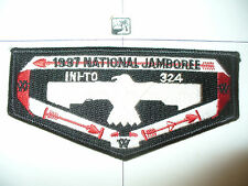 OA Ini - To Lodge 324,S-43, 1997 BSA Jamboree Sashes Flap,Flint River Council,GA