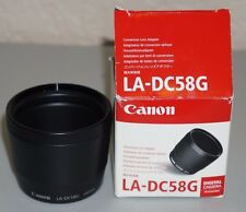 Canon Lens Adapter LA-DC58G Made for PowerShot A710 IS, A700, A720 IS Camera