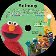 Sing Along with Elmo - Personalized Kids Music CD