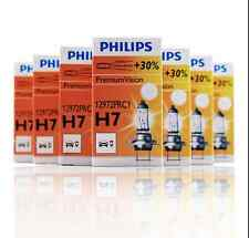 10X PHILIPS H7 X-treme VISION Bright 55W 12V +30% Halogen Headlight Lamp Bulbs