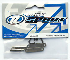 "Team Losi 1/18 Mini-T, MDT Front Axle & Pin Brace ""NEW"" LOSB1037"