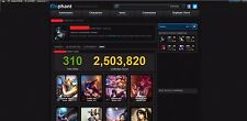 League of Legends Account | LOL | EUW | 128 Champs | 310 Skins | Rares