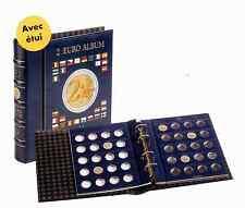 VISTA album numismatique avec 4 feuilles +étui pour pièces de 2 euros Réf 341017