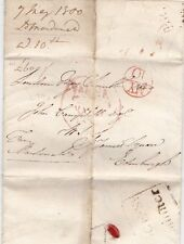 * 1800 LORD MACDONALD LETTER CROWN FREE RED BISHOPMARK & BRIDGE St WESTMINSTER