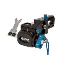 New Hamskea Archery Hybrid Target Pro Micro-Tune Arrow Rest RH Blue 210071