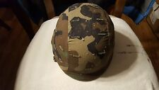 US  Military Ballistic PASGT Camoflage Combat Helmet with 2 Covers Size Large