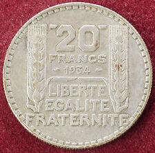 France 20 Francs 1934 (D1603)