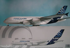 Hogan Wings 1:200 Airbus House Color A380-800  AS01 + Herpa Wings Katalog