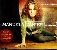 MANUELA ZANIER Amami CD Single NEW