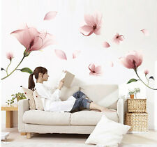 Fantasy Flowers Removable Vinyl Decal Wall Sticker Mural DIY Art Room Home Decor