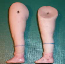 "antique legs 2.73"" for dollhouse doll wire fixing"