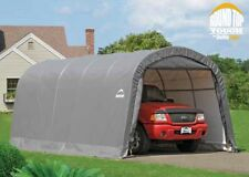 ShelterLogic 12x20x8 Round Auto Shelter Portable Garage Steel Carport Car 62780