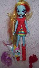 """My Little Pony Doll Rainbow Dash Hasbro Equestrian Girls 9"""""""