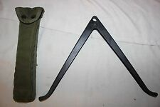 US Military Issue Vietnam Era Rifle Bipod with Carrying Case BP06