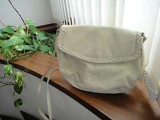Bolso bandolera crudo Mango // Mango ivory shoulder bag