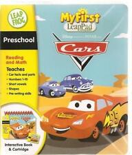 LeapFrog My First LeapPad Educational Preschool Book Cartridge Cars Reading Math
