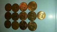 13 old coins