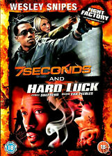 WESLEY SNIPES FIGHT FACTORY 7 SECONDS / HARD LUCK NEW SEALED 2 DVD IN SLIPCASE