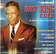 NAT 'KING' COLE - An Unforgettable Collection (UK 17 Tk CD Album)