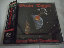 GRAVE DIGGER-Heavy Metal Breakdown/Rare Tracks JAPAN 1st.Press PROMO w/OBI