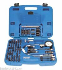WINTER SALE! Diesel Engine Compression Master Tester Tool Kit IN CASE + ADAPTORS