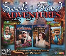 GARDENSCAPES 2 + BARN YARN Hidden Object 4 PACK PC Game DVD-ROM NEW
