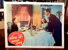JOAN CRAWFORD (full B#$%h), Wendall Corey Lobby Card HARRIET CRAIG (1950) K.T. S