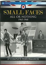 SMALL FACES ALL OR NOTHING DVD 1965 - 1968, 27 COMPLETE PERFORMANCES