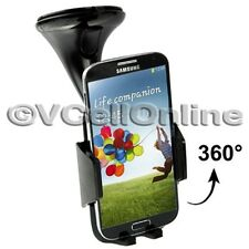 360° Windscreen Car Holder For Apple iPhone 6 /6 Plus/5/5S,Galaxy S5/S4/S3/S2 FM