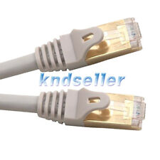 2m 6ft CAT 7 SSTP LAN Direct Ethernet Cable Network Patch Shielded 10Gbps