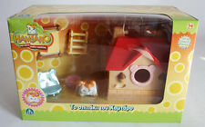 VERY RARE 2005 HAMTARO HAM HAM TAKE ALONG HOUSE PLAYSET EUROPEAN NEW MISB !