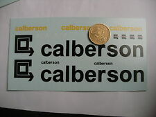 ancien decals decalcomanie  calberson  1/43