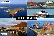 SOUVENIR FRIDGE MAGNET of HELGOLAND HELIGOLAND GERMANY