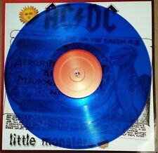 AC/DC 7/21/79 MONSTERS OF ROCK TOUR 1979, 180 GRAM BLUE COLORED VINYL LP IMPORT