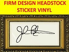 STICKER HEADSTOCK FIRM THE JOHN PETRUCCI DREAM THEATER VISIT OUR NEW STORE