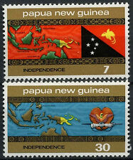 Papua New Guinea 1975 SG#294-5 Independence MNH Set #A83394