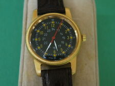 Nice NOS Type A-D Gold Tone Men's Military Watch