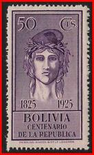 BOLIVIA 1925 LIBERTY SC#156 MNH PERIOD GUM IMPERFECTIONS