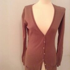Cardigan by NOUGAT. Size 14. 100% Cotton and Moleskin colour.